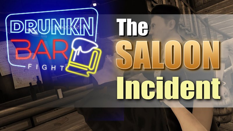The Saloon Incident - Drunkn Bar Fight VR