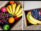 Коробка фруктов