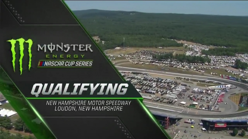 2018 NASCAR Monster Cup - Round 20 - New Hampshire - Квалификация