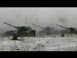 Учебно-боевые стрельбы мотострелков ВВО в Хабаровском крае