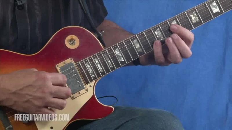 Jody Worrell - Eric Clapton Guitar Riff Lesson