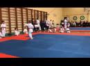 Соревнования по ката каратэ киокушинкай