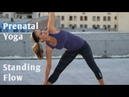 15 Minute Prenatal Standing Flow WorkoutGentle Yoga for All Trimesters of Pregnancy