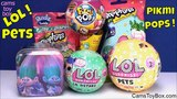 LOL Surprise Pets Lil Sisters Pikmi POPS Shopkins Trolls Tin Blind Bag Toys Series 3 2 Fun Radz Kids