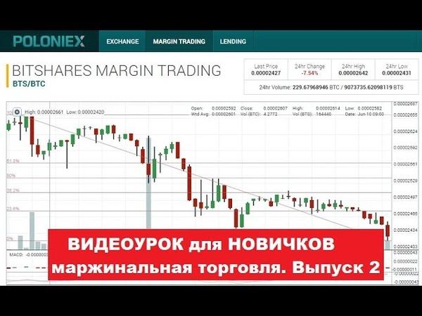 Margin Trading на бирже Poloniex Подробный Обзор. Выпуск №2