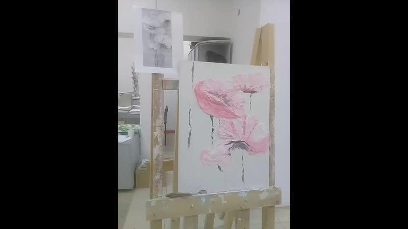 Мастер-класс Объемная живопись