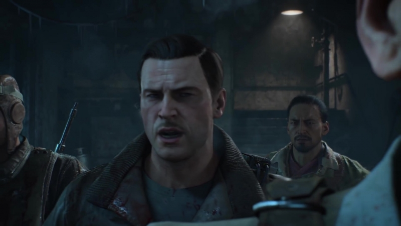 Кат сцена карты Mob of the Dead зомби режима Call of Duty Black Ops 4