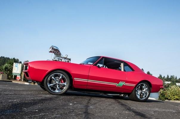 ННостальгическое совершенство: Camaro 1967 года в стиле Pro Street Стиль Pro Street это лучшее, что случалось с классическими маслкарами за последние три десятилетия. С момента своего основания