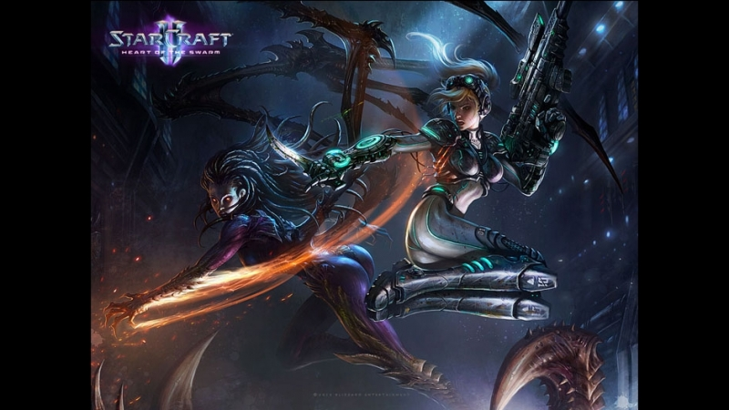Stream StarCraft II: DezeWolven and Seductive Panther 2