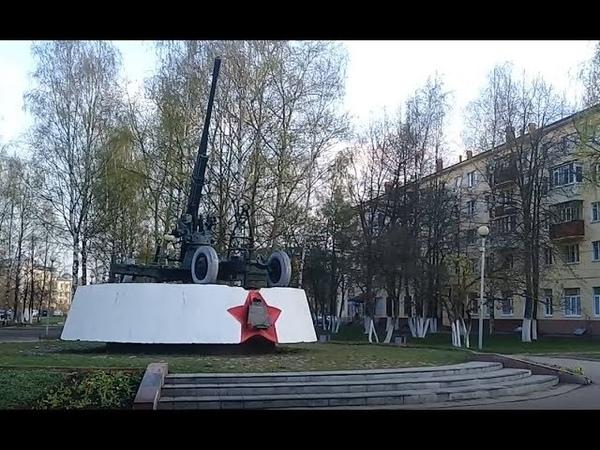Зенитка 52К. Памятник победы в Вологде