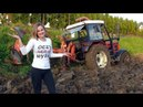 Dziewczyny na traktory - Ekstremalna orka 2017 - Agata vs Zetor 7245 i Krone 3s   GIRL ON TRACTOR  