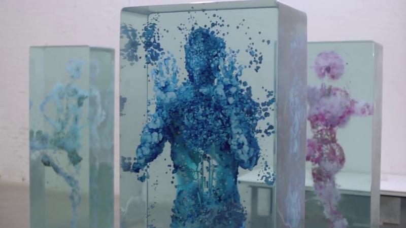 3D Коллажи в стекле от Дастина Елина