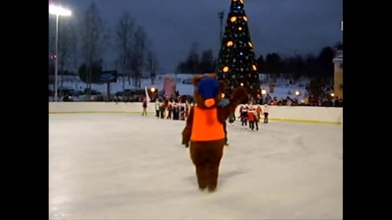 РООЯО СФФК 2006 г. СлавНефть. Наше выступление на II Этапе Кубка Мира по лыжным гонкам в Демино.