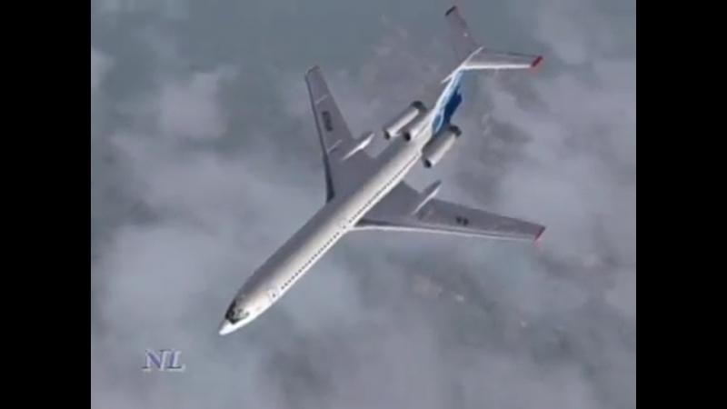 Towards the Sun Tu-154M, RA-85628