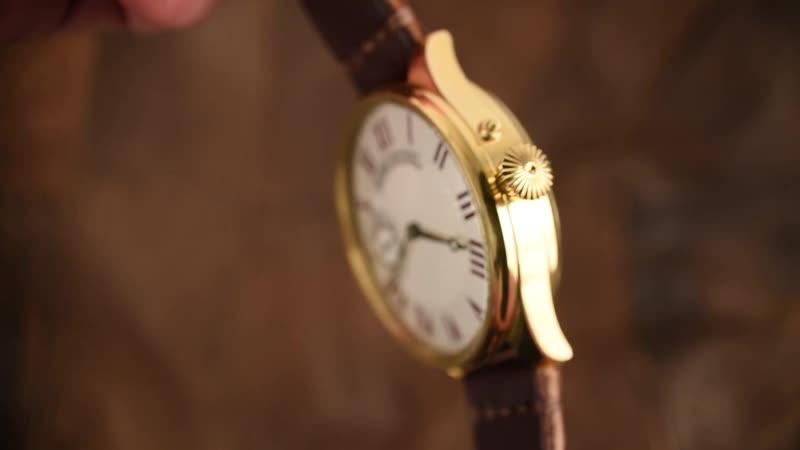 Видео обзор часов Swiss Watch. ( рекорпусация механизма из карманных часов).