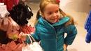 Вика и мамой ходят по магазинам, HM, Стокманн, Шоппинг, представление Белоснежка и семь гномов