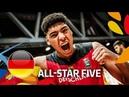 Kostja Mushidi - Germany - All-Star Five - FIBA U20 European Championship 2018