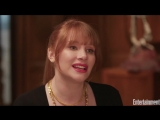 EW l Bryce Dallas Howard Explains How She Would Handle Being On Island With Dinosaurs