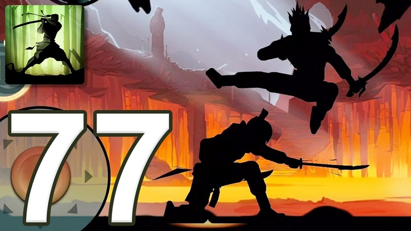 Shadow Fight 2 - Gameplay Walkthrough Part 77 - Underworld: Volcano (iOS, Android)