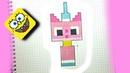 Pixel Art Facile Comment dessiner un Chat Licorne Unikitty