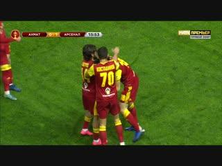 0-1 Лука Джорджевич 16' «Ахмат» - «Арсенал»