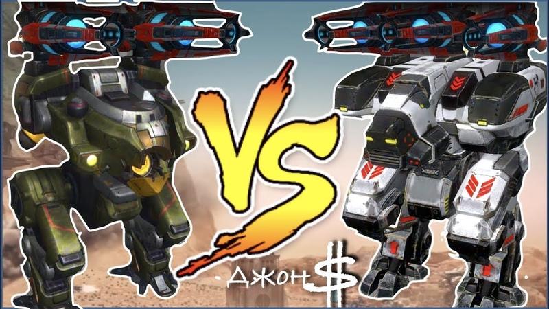 War Robots - Bulwark VS Fury Dragoon MK2