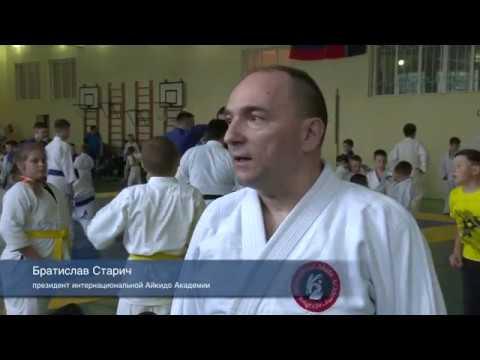 В Новом Осколе впервые прошел международный обучающий семинар по айкидо