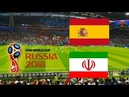 WC2018. Spain 1-0 Iran (video from the stands)