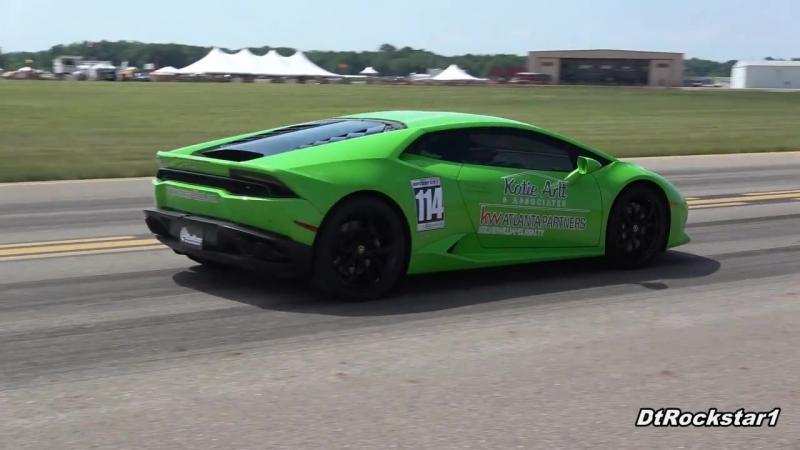 Twin Turbo Lamborghini Huracan Goes 225 MPH