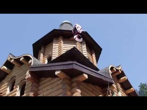 На храм в честь небесного покровителя Крыма установлен купол