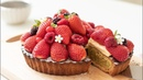 いちごとベリーのタルト12356ちごミルクの作り方 Strawberry Tart Fresh Strawberry Milk HidaMari Cooking