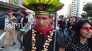 Ecuador: Indigenous group march to save ancestral land from oil exploration