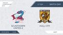 AFL18. England. Championship. Day 17. Scunthorpe United-2 - Hull City