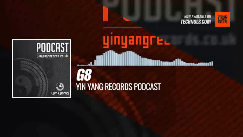 G8 Yin Yang Records Podcast Periscope Techno music