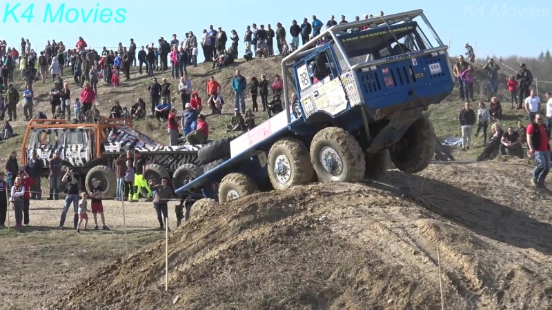 8x8 Tatra truck in Truck trial _ Milovice 2018 _ participant no. 588