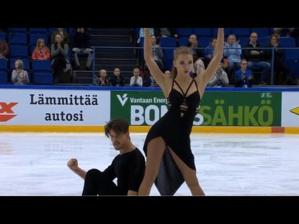 СТЕПАНОВА / БУКИН 121.62 _ РЕКОРД РОССИИ - FINLANDIA TROPHY 2018 _ STEPANOVA / BUKIN FD