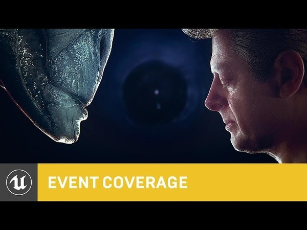 Andy Serkis Digital Human Osiris Black Blended Performance | SIGGRAPH 2018 | Unreal Engine