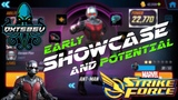 Ant-Man Gameplay - Marvel Strike Force - MSF