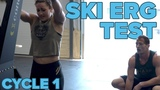 100 Calories For Time! Misfit Cycle 1 Ski Erg Test