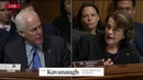 I did not leak Ford's letter, Feinstein says