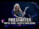 Sepultura Firestarter The Prodigy Metal Veins Alive At Rock in Rio feat Les Tambours du Bronx
