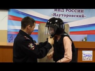 В Ялуторовске полицейские провели акцию «День без турникета»