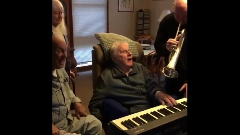 95 paralysis and still... THE POWER OF MUSIC