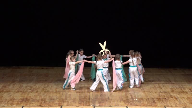 19 Танец Портные Непоседы Долгопрудный Отчётный концерт Шаг вперёд 13 04 2019г