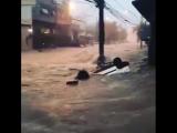 Наводнение в Белу-Оризонти, Бразилия, 16.03.2018