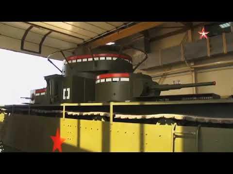 Самый мощный в мире: на Урале восстановили уникальный пятибашенный танк Т35