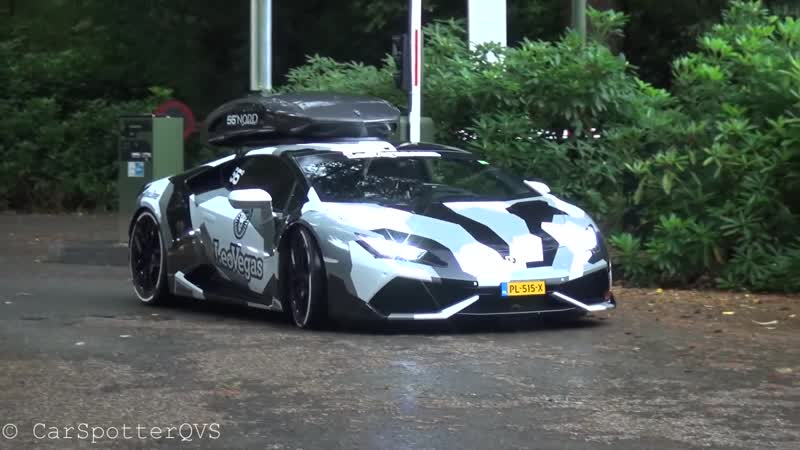 Supercars Arriving @Cars u0026 Business LaFerrari Veyron Aventadors Olsson Huracán LOUD Sounds
