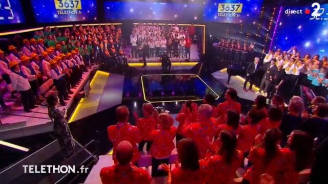 ZAZ Si Jamais J´Oublie and dress auction for French Telethon 2018 - LIVE Dec. 8th