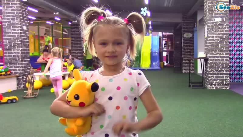 Развлекательный центр для Детей с горками и батутами - Indoor Playground for Kids.mp4