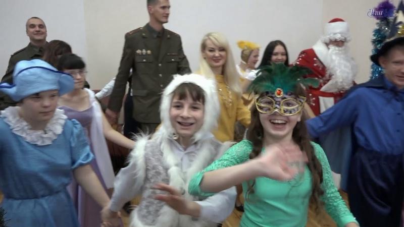 Новогодние подарки для воспитанников Волковысской вспомогательной школы-интерната